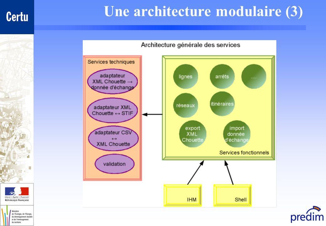 Une architecture modulaire (3)