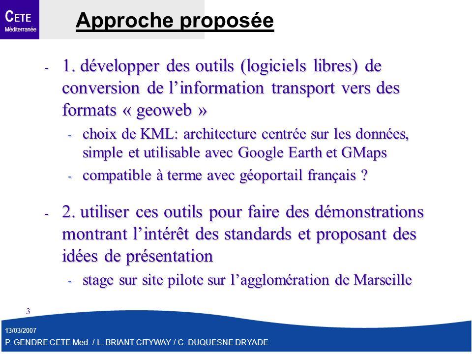 C ETE Méditerranée 13/03/2007 P. GENDRE CETE Med.