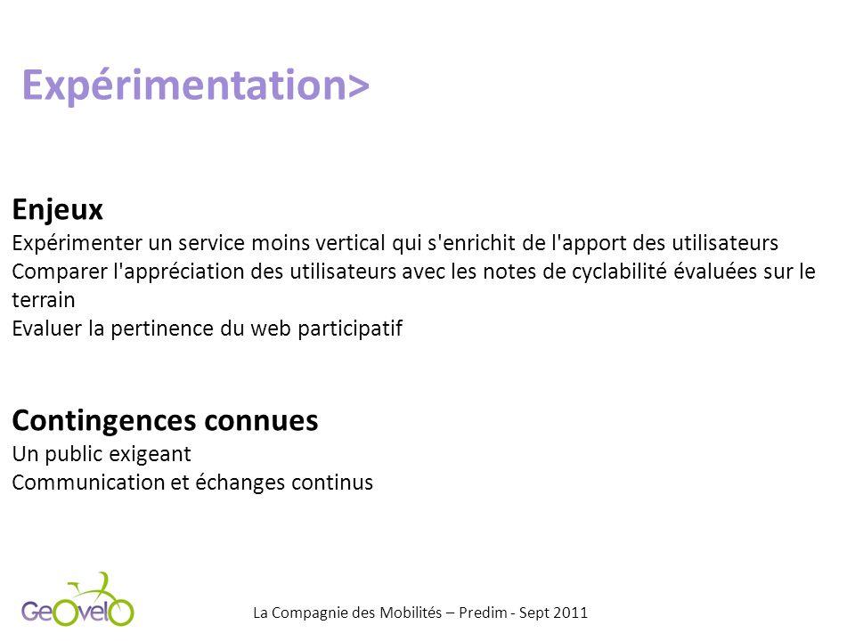 Enjeux Expérimenter un service moins vertical qui s'enrichit de l'apport des utilisateurs Comparer l'appréciation des utilisateurs avec les notes de c