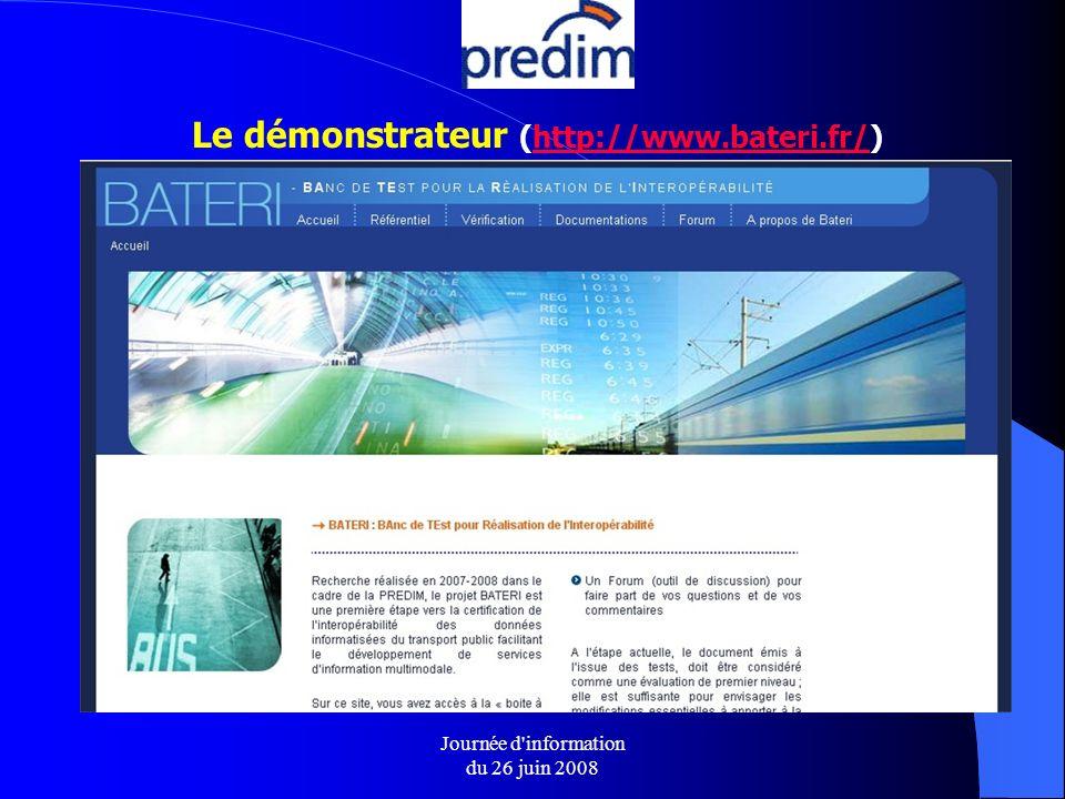 Le démonstrateur (http://www.bateri.fr/)http://www.bateri.fr/