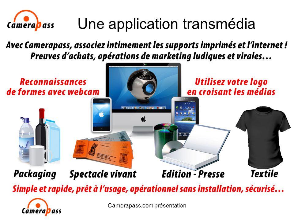 Camerapass.com présentation Une application transmédia
