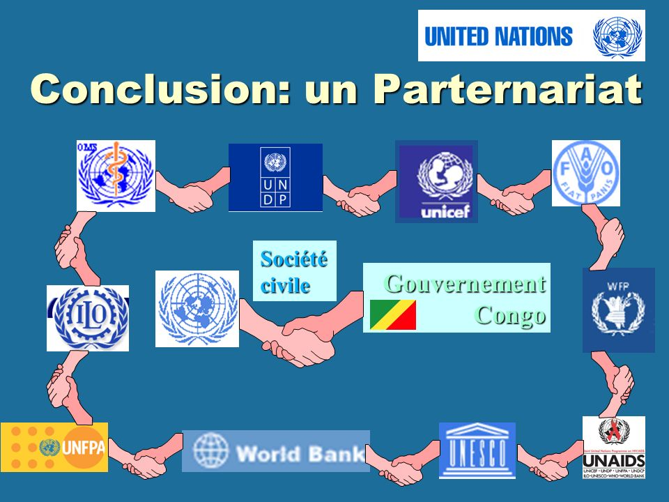 Conclusion: un Parternariat Société civile GouvernementCongo