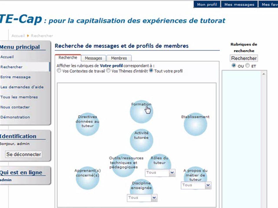 http://liesp.insa-lyon.fr/members/garrot/23/38 Plate-forme TE-Cap : recherche