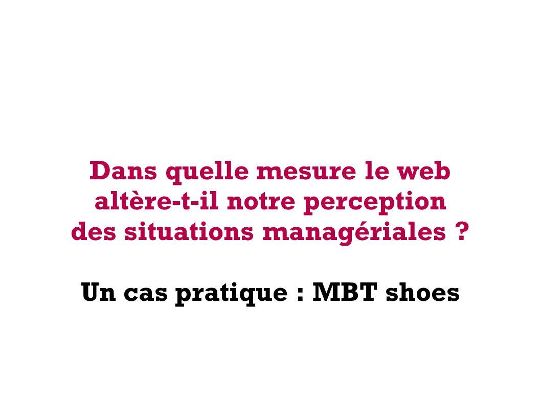 18 octobre 2012Forum Le Web : quelles mutations dans la prise des décisions ? Un produit sortant de l ordinaire Issu de 15 années de recherches