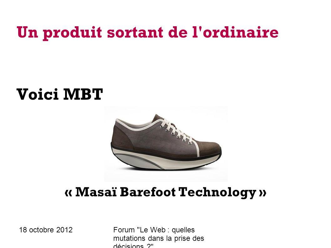 18 octobre 2012Forum Le Web : quelles mutations dans la prise des décisions ? Une forte présence web Officielle