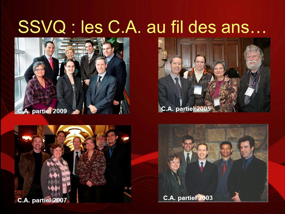 La SSVQ : 1 100 membres professionnels au Québec