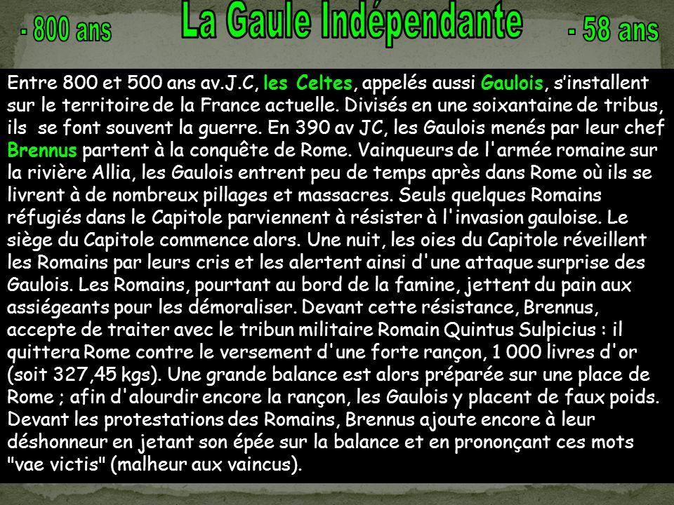 Prise de Rome par Brennus en 390 av JC