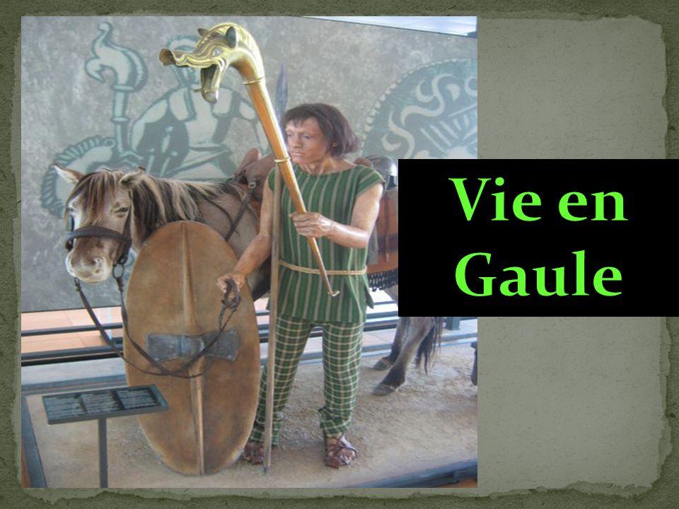 Entre 800 et 500 ans av.J.C, les Celtes, appelés aussi Gaulois, sinstallent sur le territoire de la France actuelle.