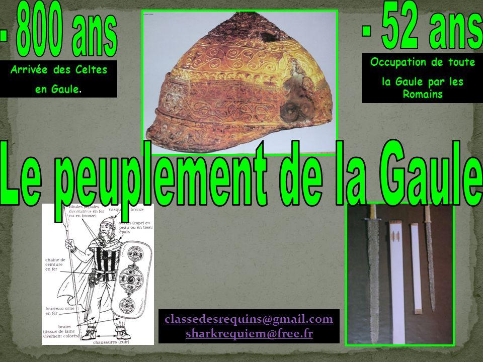 Arrivée des Celtes en Gaule.