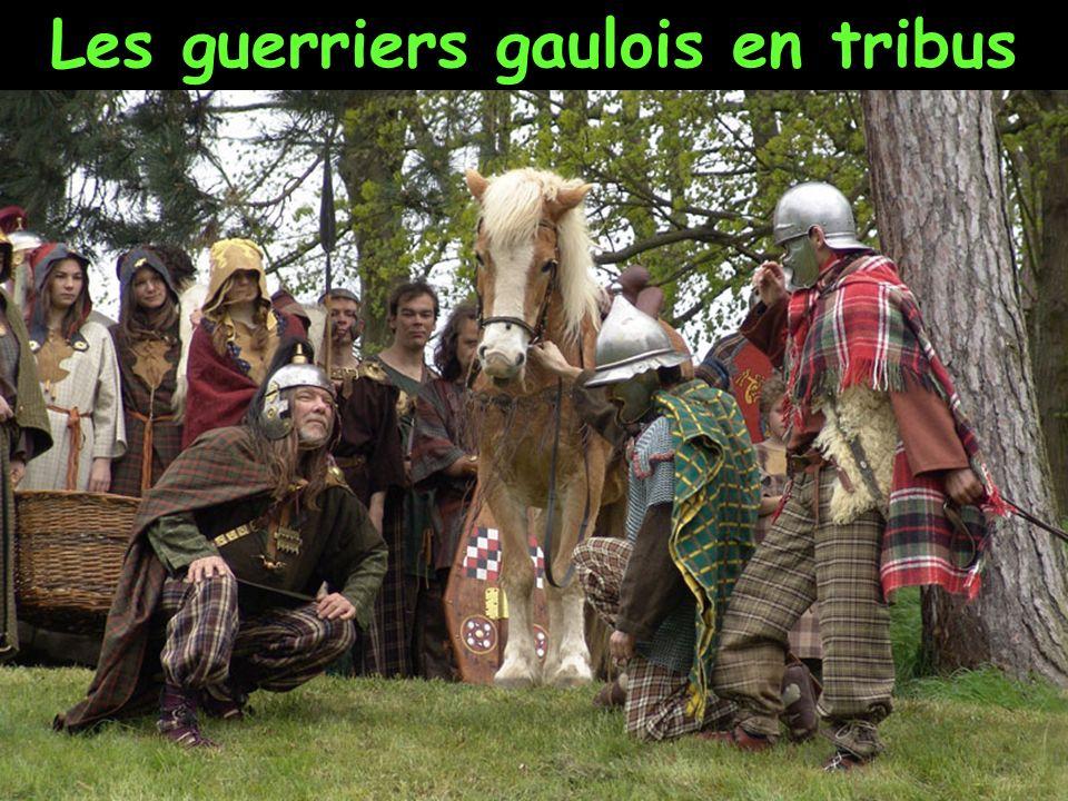 Les guerriers gaulois étaient redoutés dans tout le monde antique. Ils avaient une longue pratique de la guerre. Les Gaulois se regroupaient en tribus
