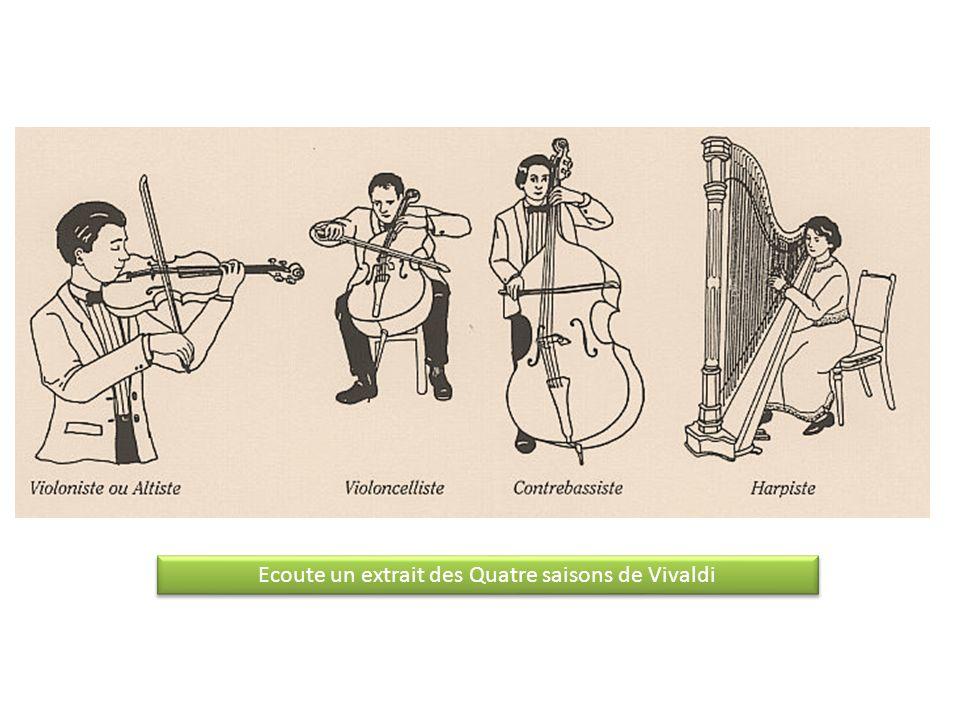 Ecoute un extrait des Quatre saisons de Vivaldi