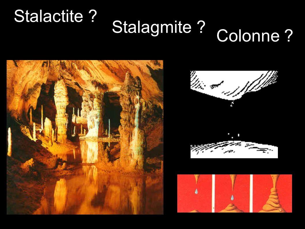 Stalactite Stalagmite Colonne