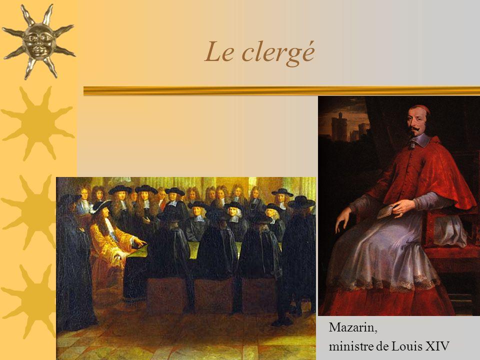 Le clergé Mazarin, ministre de Louis XIV