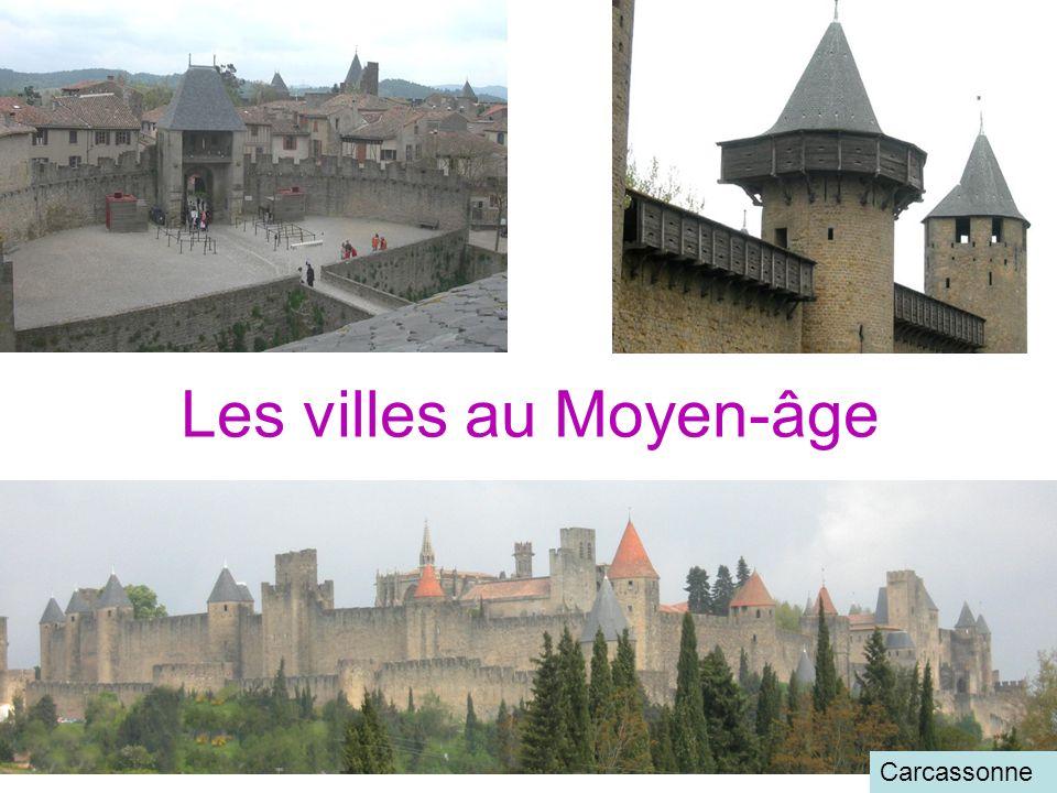 Les villes au Moyen-âge Carcassonne