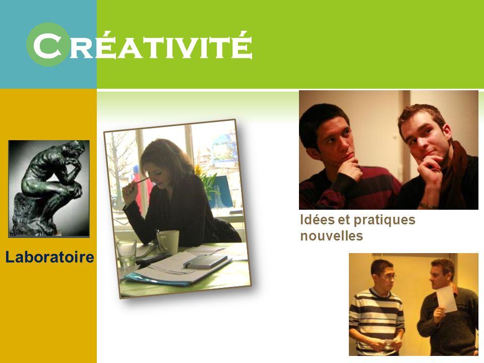 Laboratoire Idées et pratiques nouvelles C réativité