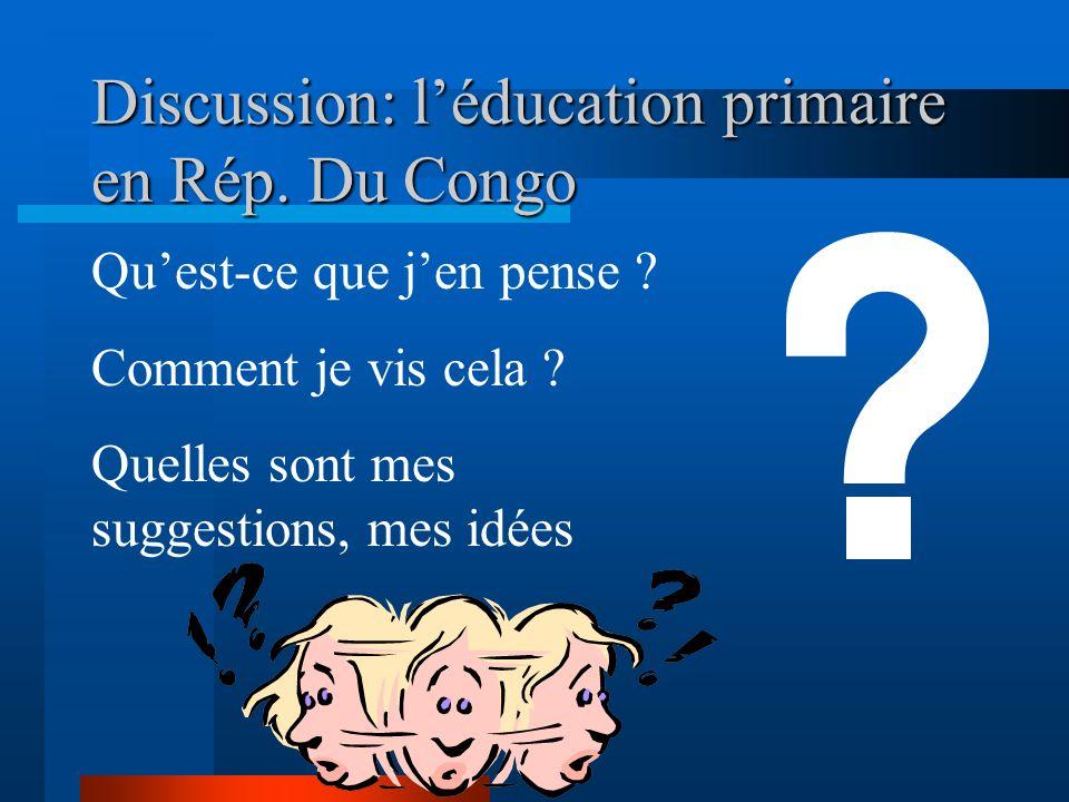 Signature du protocole daccord «Éducation pour Tous » Ecole des Pygmées Autres initiatives: Forum National de lalphabétisation; Programme scolaire de