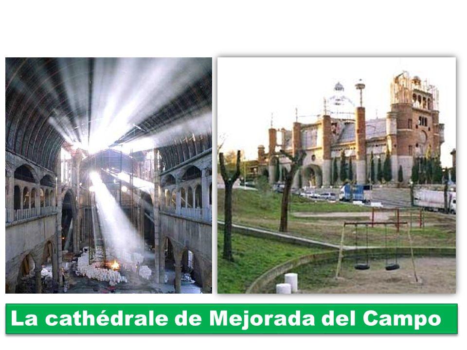 La cathédrale de Mejorada del Campo