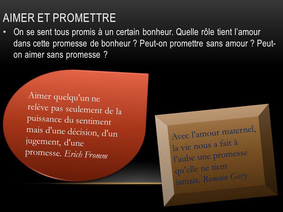 Promis à la plus grande joie A qui sommes-nous promis, depuis notre naissance, et tout au long de notre vie ?