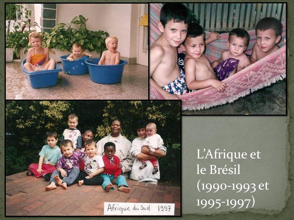 LAfrique et le Brésil (1990-1993 et 1995-1997)