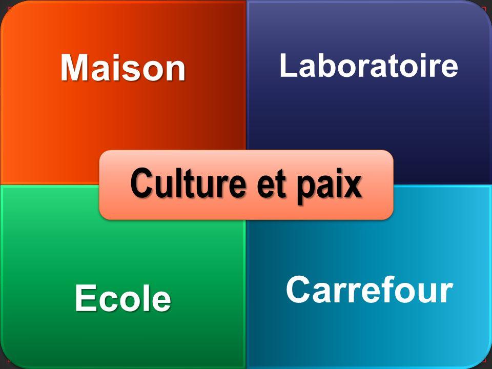 Maison LaboratoireEcole Carrefour Culture et paix