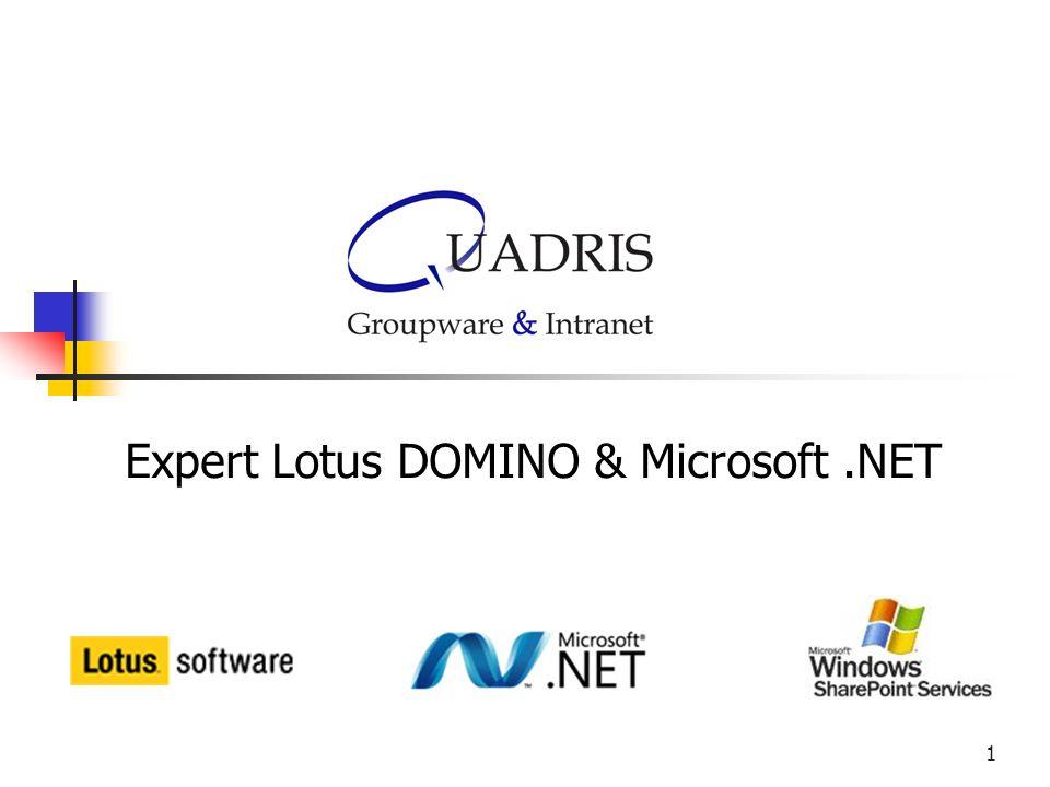 1 Expert Lotus DOMINO & Microsoft.NET
