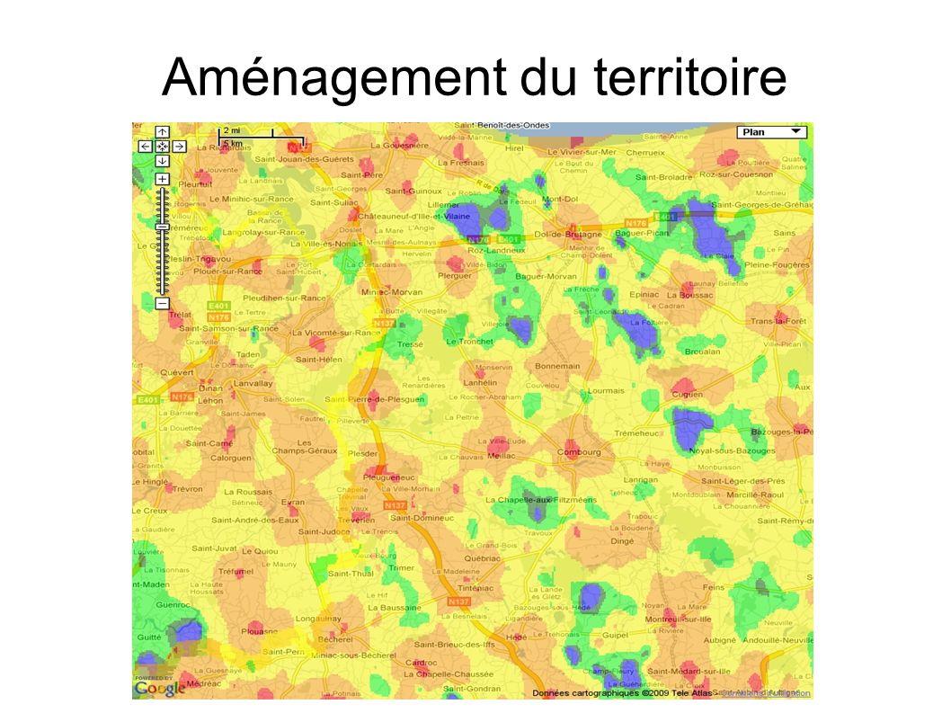 Aménagement du territoire