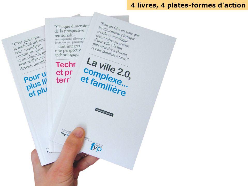 4 livres, 4 plates-formes d action