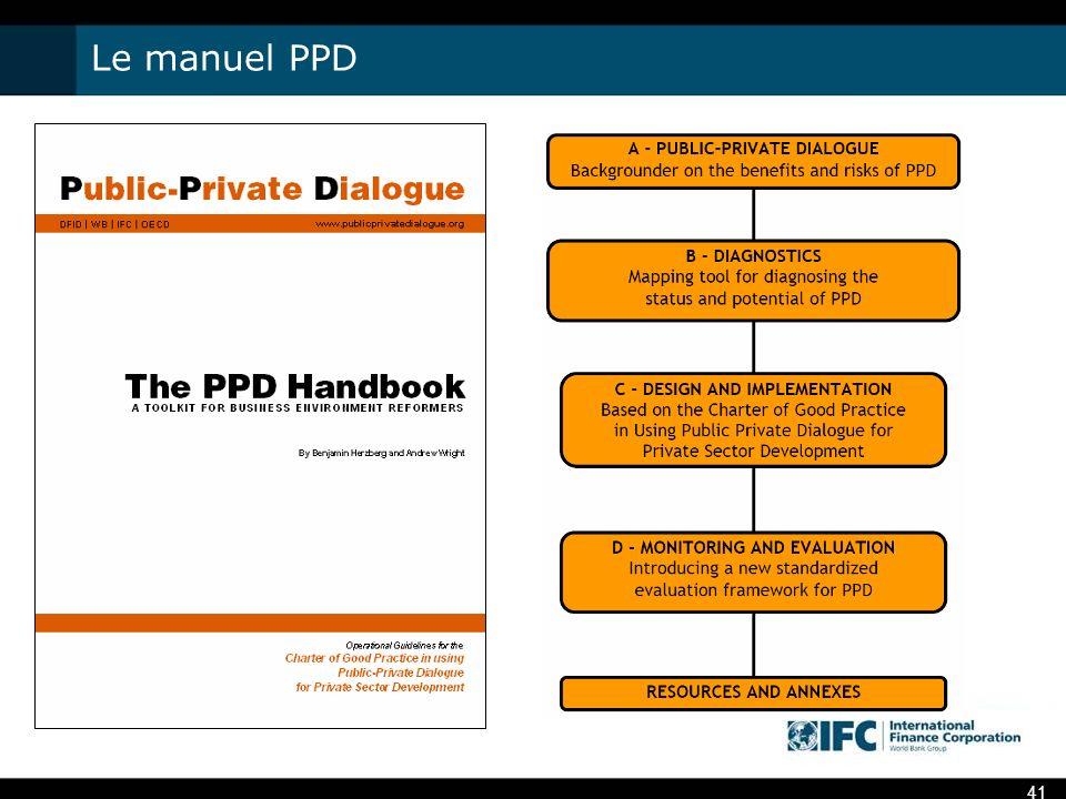 Le manuel PPD 41