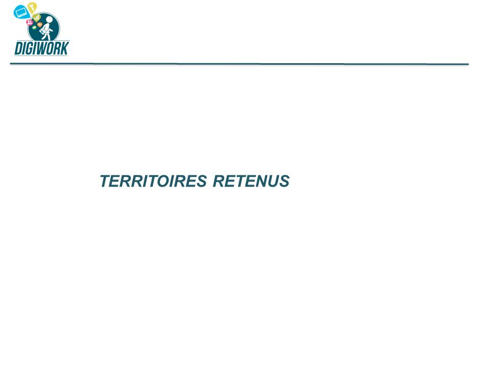 TERRITOIRES RETENUS