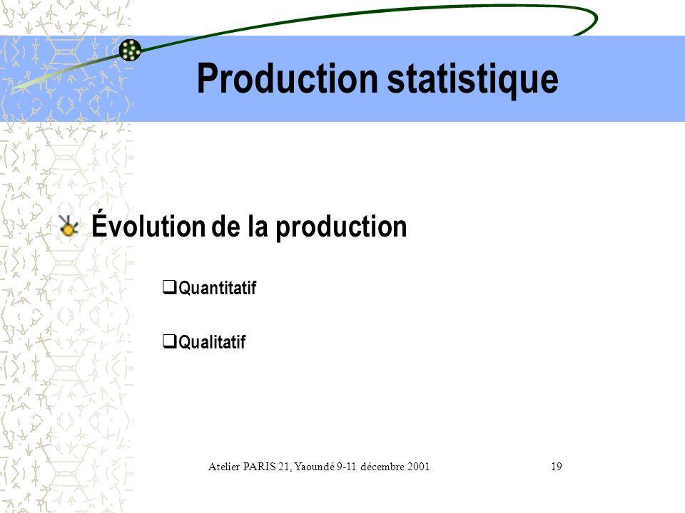 3- Ressources humaines 300 statisticiens tous grades confondus. Un statisticien pour 50 000 habitants. Nécessité de former plusieurs statisticiens et