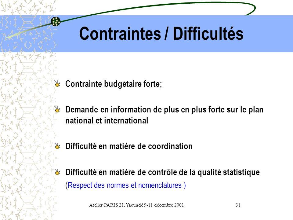 Coordination / Normalisation Rapport général du CNS Nomenclatures des activités et produits du Cameroun ( Afristat ) Manuel de concepts et définitions