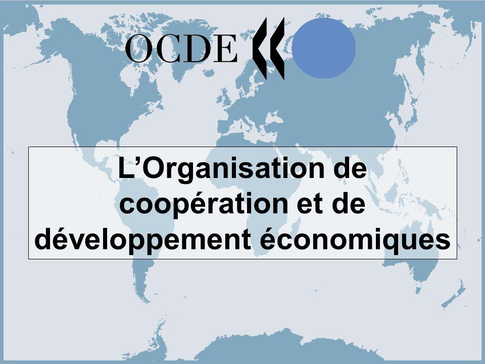 1 LOrganisation de coopération et de développement économiques