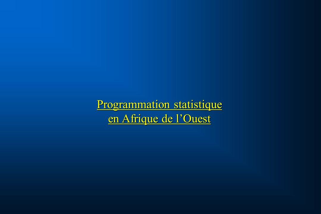 Programmation statistique en Afrique de lOuest