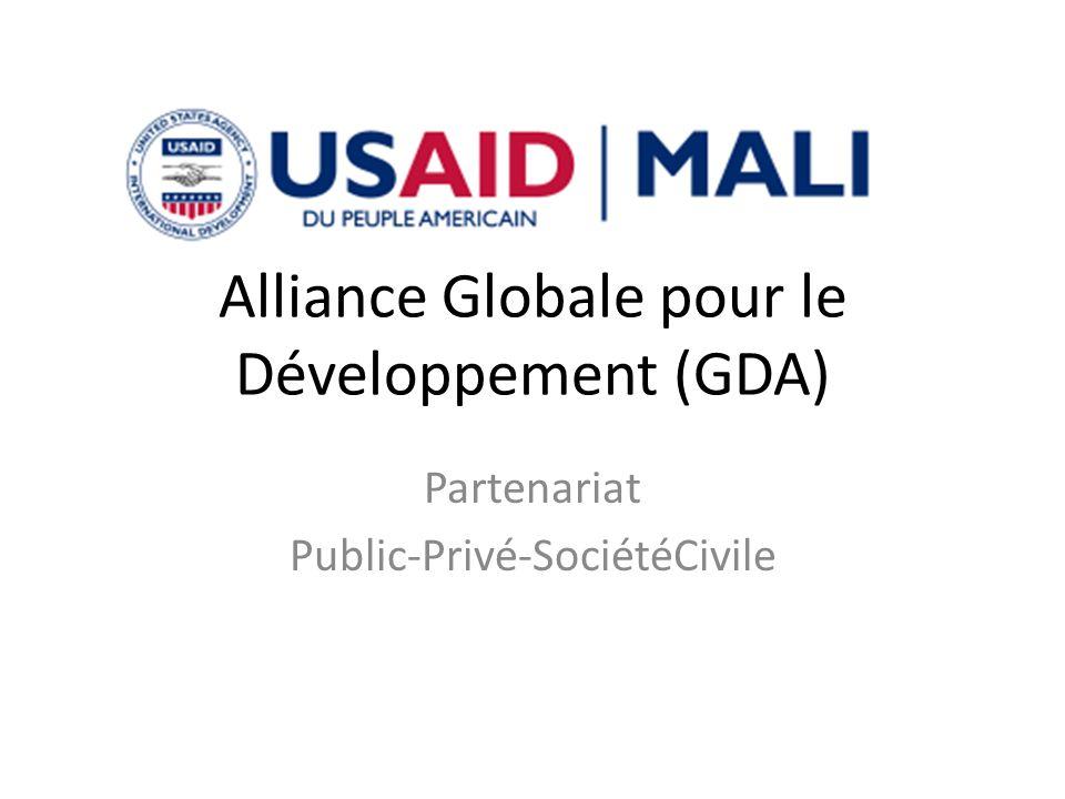 Alliance Globale pour le Développement (GDA) Partenariat Public-Privé-SociétéCivile
