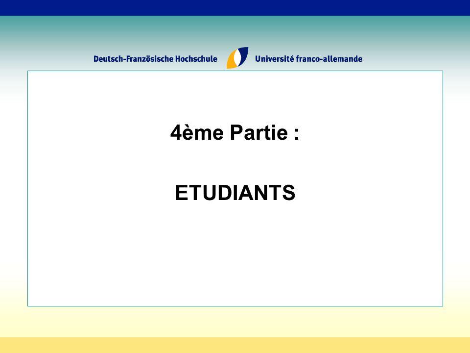 4ème Partie : ETUDIANTS