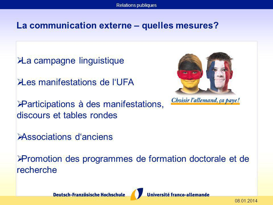08.01.2014 La communication interne – quelles mesures.
