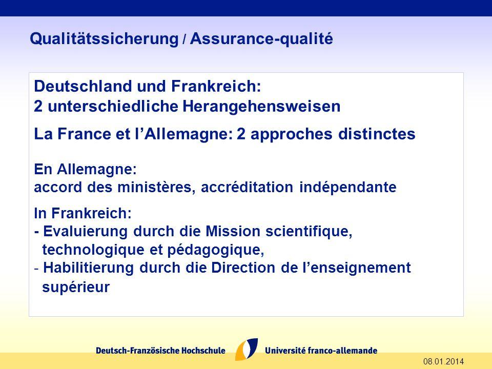 Deutschland und Frankreich: 2 unterschiedliche Herangehensweisen La France et lAllemagne: 2 approches distinctes En Allemagne: accord des ministères,