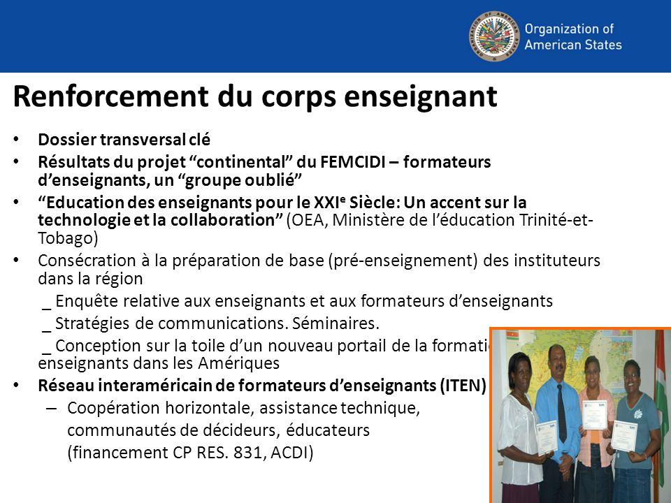 Programme interaméricain déducation aux valeurs et pratiques démocratiques Charte démocratique interaméricaine (2001): Le rôle de léducation dans la promotion dune culture démocratique Adopt é à la IV e Réunion des ministres.