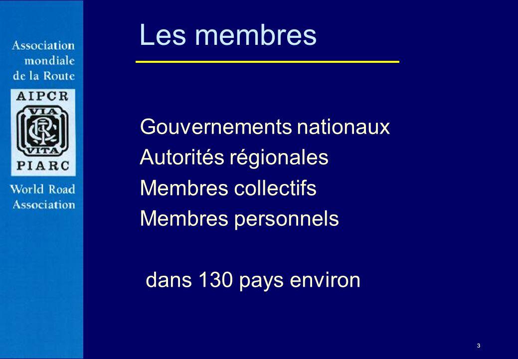 14 Pour chaque cycle, entre deux congrès mondiaux de la route, lAIPCR adopte un plan stratégique qui oriente ses activités pour quatre années.