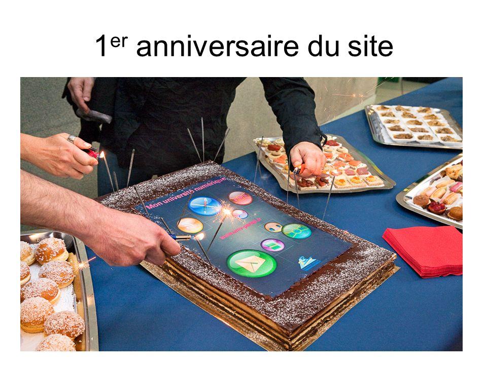 1 er anniversaire du site
