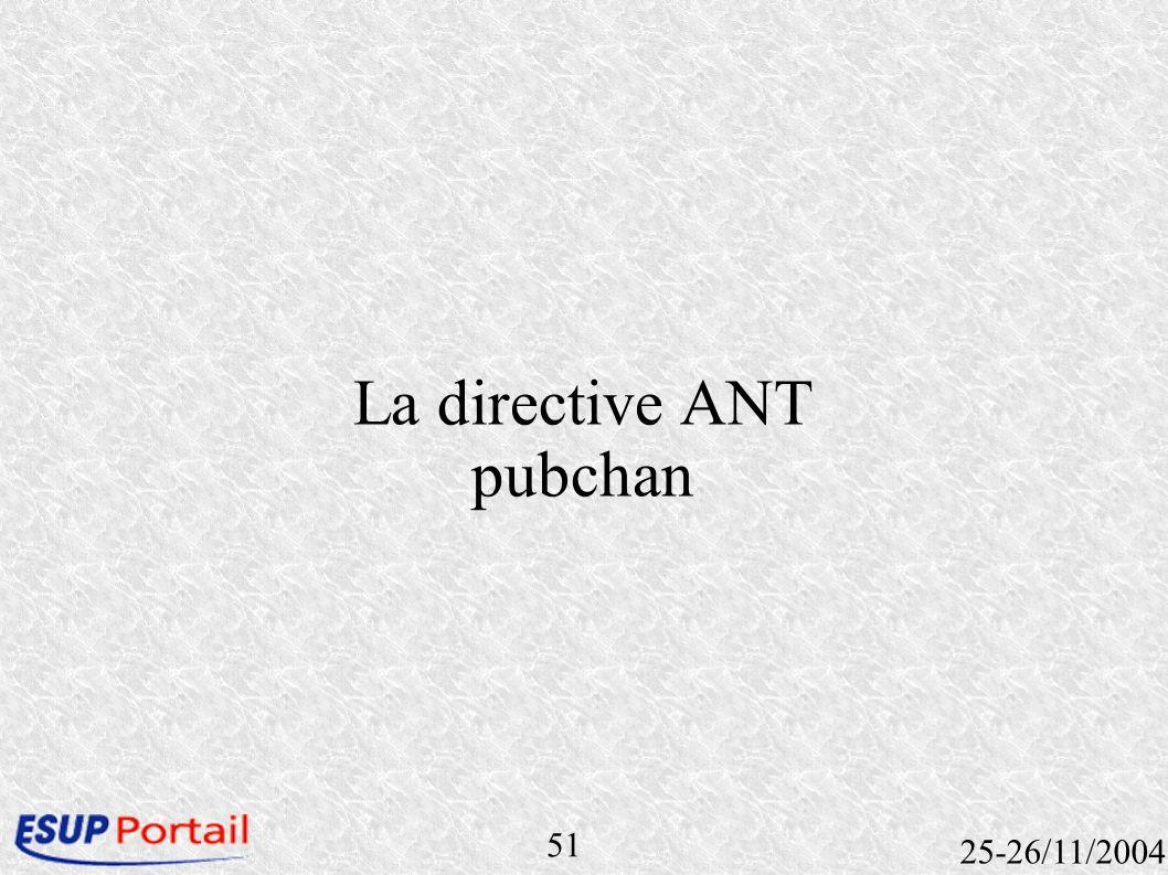 51 25-26/11/2004 La directive ANT pubchan