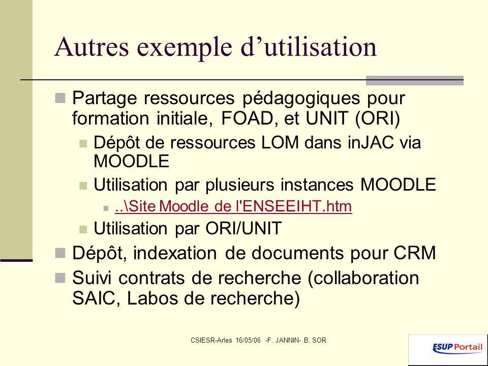 CSIESR-Arles 16/05/06 -F.JANNIN- B.