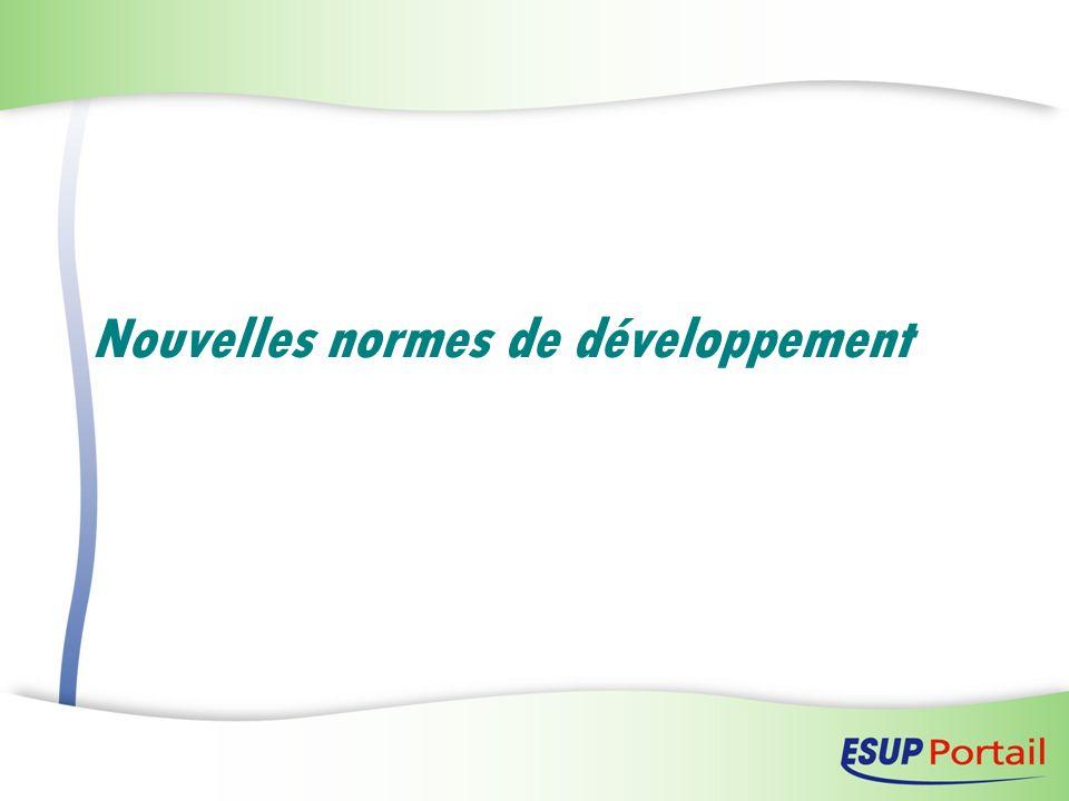 Nouvelles normes de développement