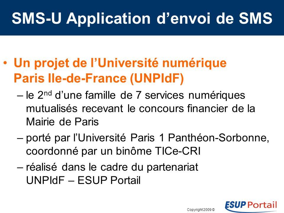 Copyright 2009 © Expériences, études présentées Esup Days 9 SMS U-UNPIdF par Benoît Rocques et Abdouroihamane Anli, Paris 1 Réseaux sociaux, les murs