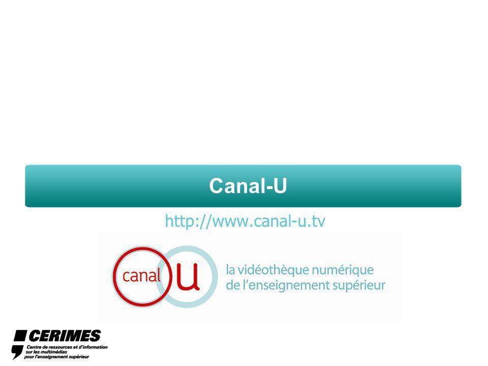 Canal-U http://www.canal-u.tv