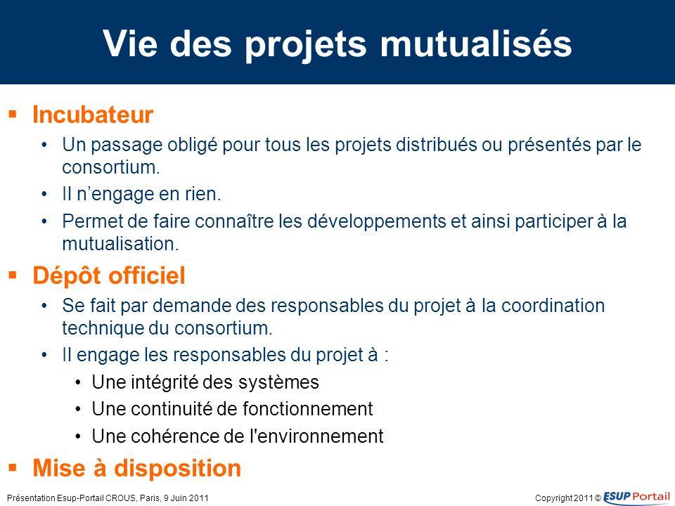 Copyright 2011 © La démarche projet Comment le consortium soutient-il les projets .