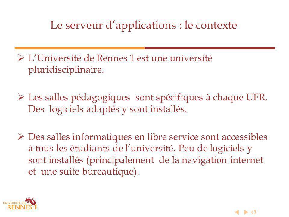 LUniversité de Rennes 1 est une université pluridisciplinaire.