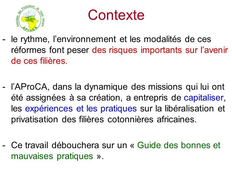 ASSOCIATION DES PRODUCTEURS DE COTON AFRICAINS BP 1799 Bamako / Mali Tel,Fax: 00(223) 222 63 67 Email: communication@aproca.net, sp@aproca.net Site: www.aproca.netcommunication@aproca.netwww.aproca.net Vive le coton Africain Je vous remercie.