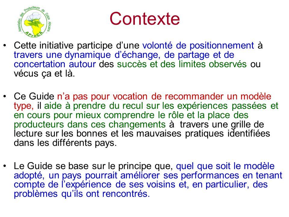 Contexte Cette initiative participe dune volonté de positionnement à travers une dynamique déchange, de partage et de concertation autour des succès e
