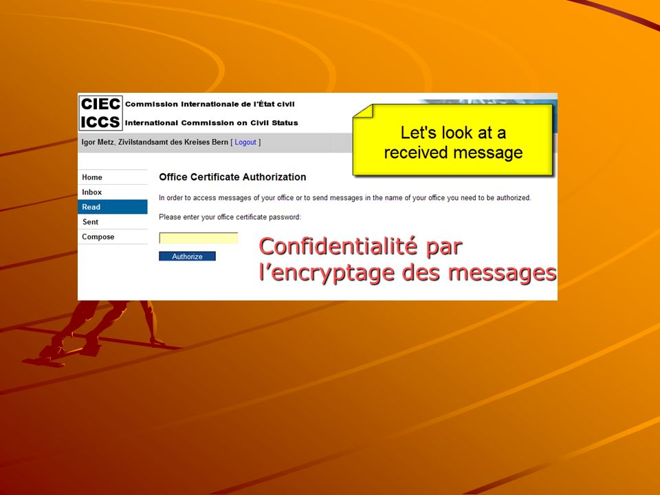 Confidentialité par lencryptage des messages